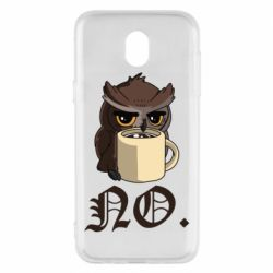 Чехол для Samsung J5 2017 Owl and coffee