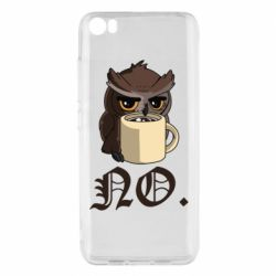 Чехол для Xiaomi Mi5/Mi5 Pro Owl and coffee