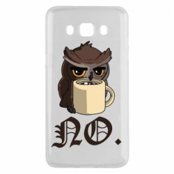 Чехол для Samsung J5 2016 Owl and coffee