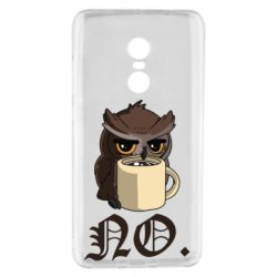 Чехол для Xiaomi Redmi Note 4 Owl and coffee