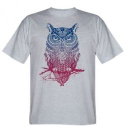 Мужская футболка Owl Art - FatLine