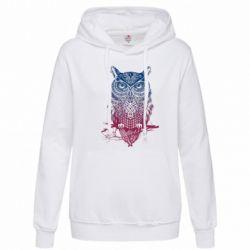 Женская толстовка Owl Art - FatLine