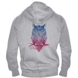 Мужская толстовка на молнии Owl Art - FatLine