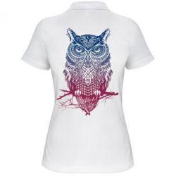 Женская футболка поло Owl Art - FatLine