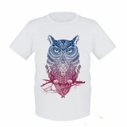 Детская футболка Owl Art - FatLine