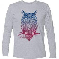 Футболка с длинным рукавом Owl Art - FatLine