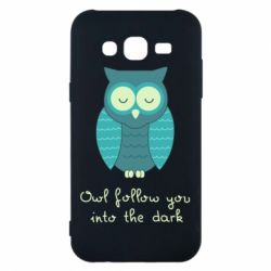Чехол для Samsung J5 2015 Owl follow you into the dark