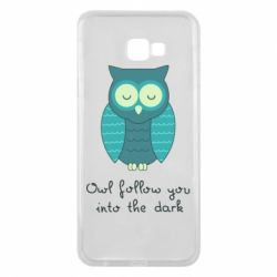Чехол для Samsung J4 Plus 2018 Owl follow you into the dark