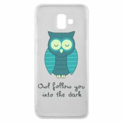 Чехол для Samsung J6 Plus 2018 Owl follow you into the dark