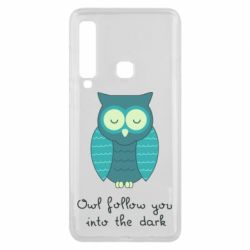 Чехол для Samsung A9 2018 Owl follow you into the dark
