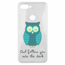 Чехол для Xiaomi Mi8 Lite Owl follow you into the dark