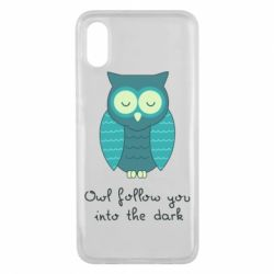 Чехол для Xiaomi Mi8 Pro Owl follow you into the dark