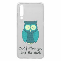 Чехол для Xiaomi Mi9 Owl follow you into the dark