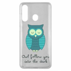 Чехол для Samsung M40 Owl follow you into the dark
