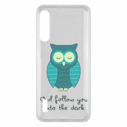 Чохол для Xiaomi Mi A3 Owl follow you into the dark