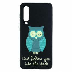 Чехол для Xiaomi Mi9 SE Owl follow you into the dark