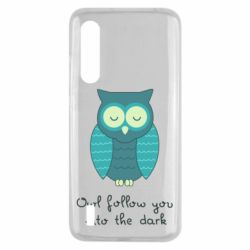 Чехол для Xiaomi Mi9 Lite Owl follow you into the dark