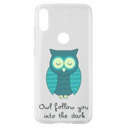 Чехол для Xiaomi Mi Play Owl follow you into the dark