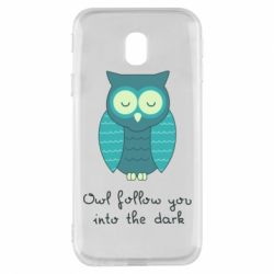 Чехол для Samsung J3 2017 Owl follow you into the dark