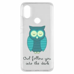 Чехол для Xiaomi Mi A2 Owl follow you into the dark