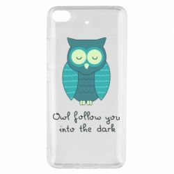 Чехол для Xiaomi Mi 5s Owl follow you into the dark