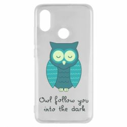 Чехол для Xiaomi Mi8 Owl follow you into the dark