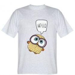 Футболка Owl hello