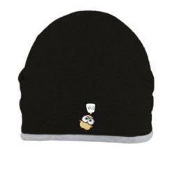 Шапка Owl hello