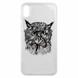 Чохол для iPhone Xs Max Owl hipsters