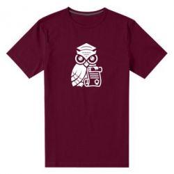 Купить Юристам, Мужская стрейчевая футболка Owl Lawyer, FatLine