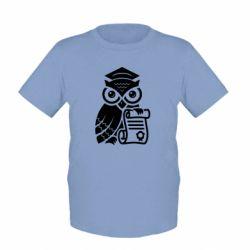 Детская футболка Owl Lawyer