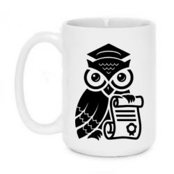 Кружка 420ml Owl Lawyer