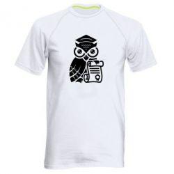 Купить Мужская спортивная футболка Owl Lawyer, FatLine