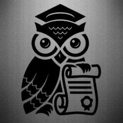 Наклейка Owl Lawyer