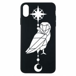 Чохол для iPhone Xs Max Owl star and month