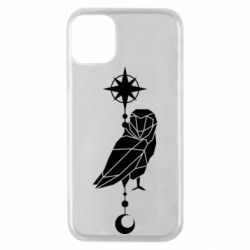 Чохол для iPhone 11 Pro Owl star and month