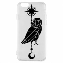Чохол для iPhone 6/6S Owl star and month
