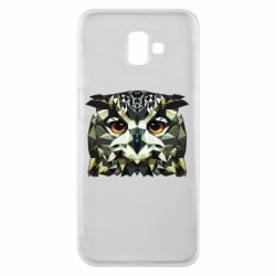 Чехол для Samsung J6 Plus 2018 Owl Vector