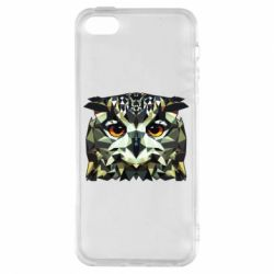 Чехол для iPhone5/5S/SE Owl Vector
