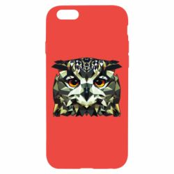 Чехол для iPhone 6/6S Owl Vector