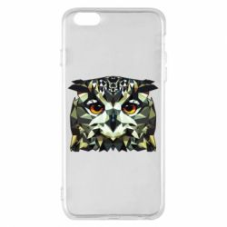 Чехол для iPhone 6 Plus/6S Plus Owl Vector