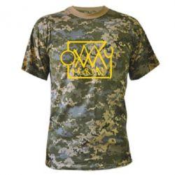 Камуфляжная футболка OXXXY Miron - FatLine