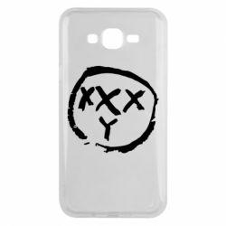 Чехол для Samsung J7 2015 Oxxxy