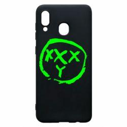 Чехол для Samsung A20 Oxxxy