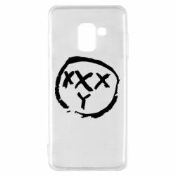 Чехол для Samsung A8 2018 Oxxxy