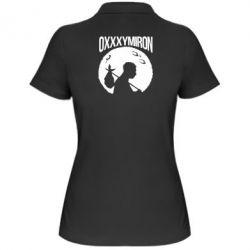 Женская футболка поло Oxxxymiron Долгий путь домой - FatLine