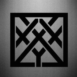 Наклейка Oxxxymiron - FatLine