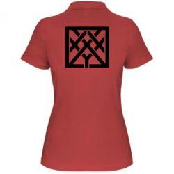 Женская футболка поло Oxxxymiron - FatLine