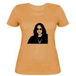 Женская футболка Ozzy Osbourne face - FatLine