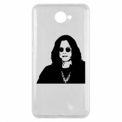Чохол для Huawei Y7 2017 Ozzy Osbourne особа - FatLine
